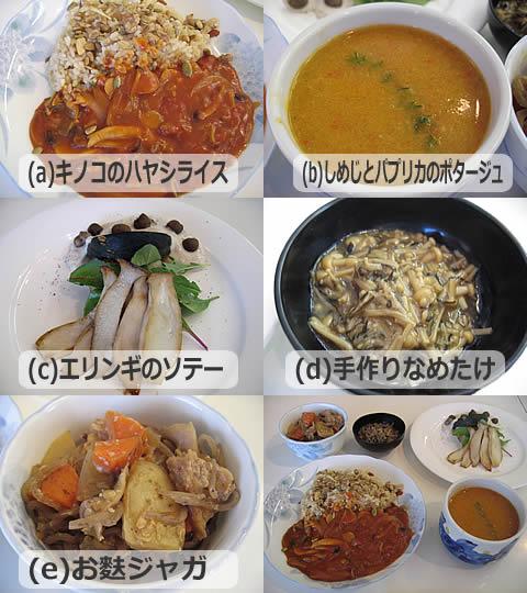 きのこ料理